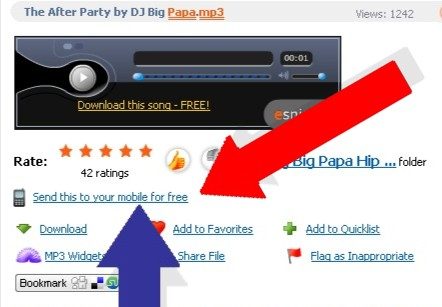 MP3 free dowbload screen